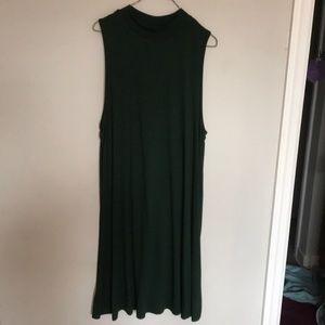 Mock neck Topshop dress